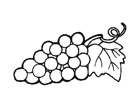 imagenes de uvas en dibujo dibujo de racimo de uvas pintado por leitomp en dibujos