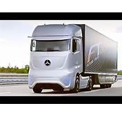 Mercedes Self Driving Truck Itself Future