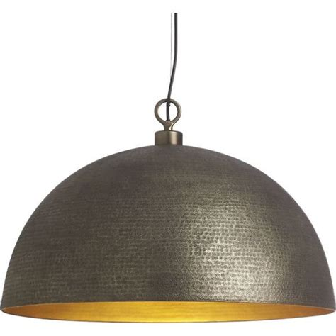 crate and barrel pendant light large dome pendant light rodan pendant light