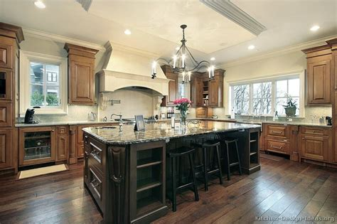 traditional kitchens with islands pictures of kitchens traditional two tone kitchen cabinets