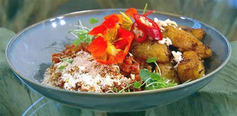 Berry Chicken Recipes Saturday Kitchen by Stew With Spiced Plantain Saturday Kitchen Recipes