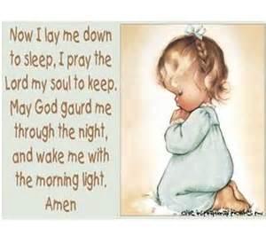 children s bedtime prayers