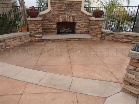 Patio Slab Sealer by Concretecalifornia Tile Sealers California Tile Sealers