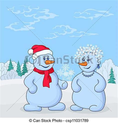 imagenes de invierno caricatura vector de bosque snowmans invierno navidad caricatura