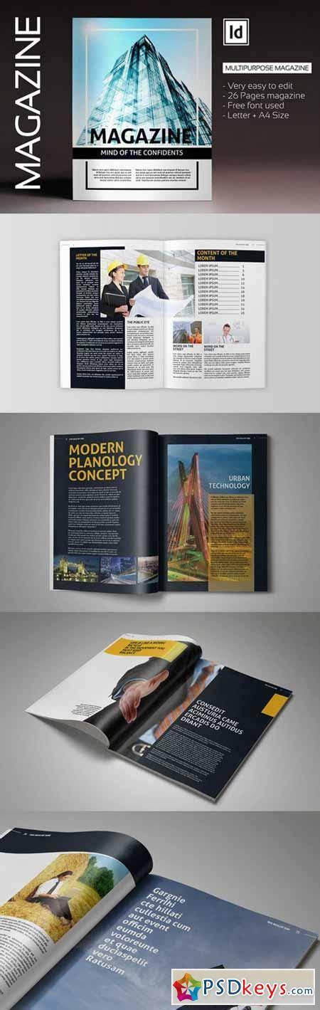 simple magazine template simple magazine template 79773 187 free photoshop