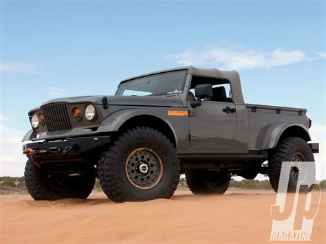 jeep concept truck breaking updated jeep wrangler confirmed by 2019