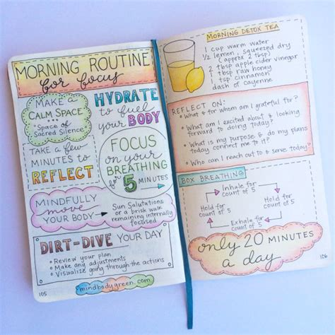 the morning routine journal a 30 day morning routine journal for creating ideal habits better results and transforming your books june 2016 the bullet journal addict