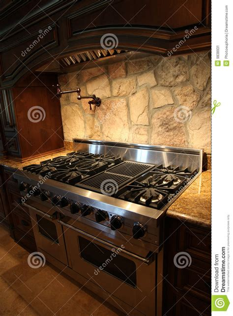 Oven Gas Home Industri tennesee home gas stainless steel stove and oven stock