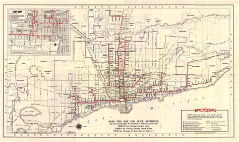 chicago rail map the chicago l lines gozamos