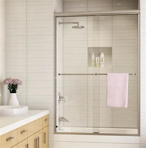 Showers With Sliding Doors Sliding Shower Doors