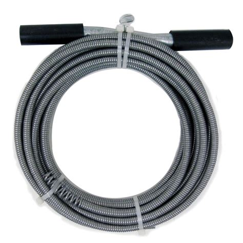 Closet Auger Canadian Tire by Cobra 1 2 In X 50 Ft High Carbon Drain Auger Lowe S Canada