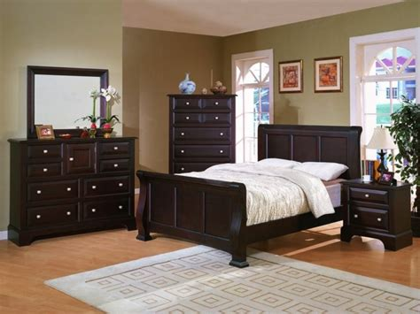 bedroom with dark furniture dark brown bedroom furniture