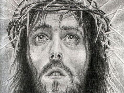 imagenes a lapiz del rostro de jesus rostro de cristo dibujo imagui
