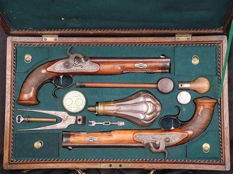 dueling pistol set cased set of dueling pistols