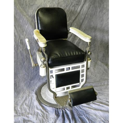 Theo A Koch Barber Chair by Antique Theo A Kochs Barber Chair