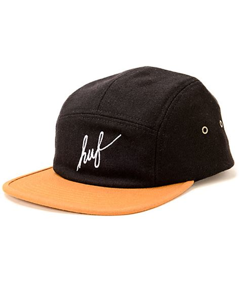 Topi Huf 5panel Huf 5panels Huf 5 Panel Huf 5 Panels Huf 2 huf script 5 panel hat