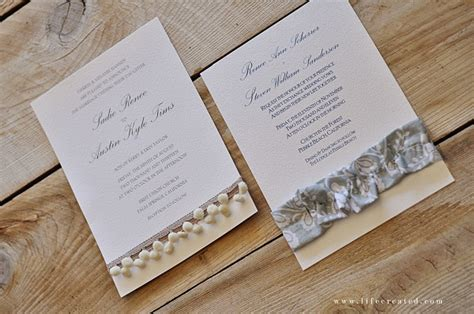 How To Make Handmade Invitation Cards - diy wedding invitation ideas theruntime