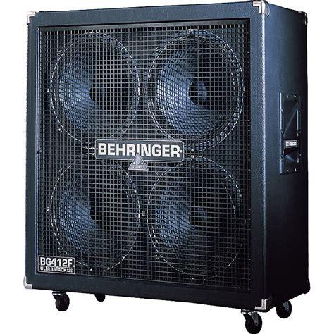 Behringer Ultrastack Bg412f 4x12 Quot Straight Guitar Speaker Behringer 4x12 Guitar Cabinet