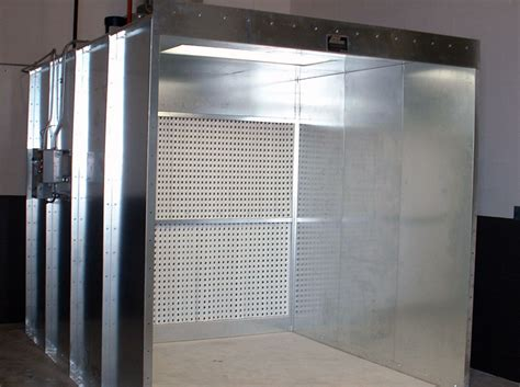 industrial manufacturing paint booth gallery spray