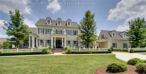 Home Design And Remodeling a classic american house in north atlanta traditional
