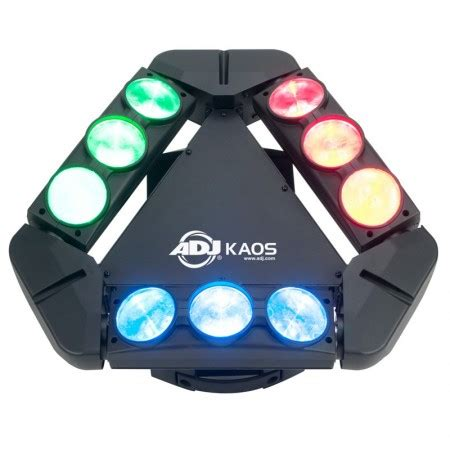 Kaos Mic adj kaos sweeping narrow led beam effect light planet dj