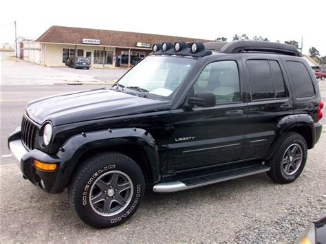 Jeep Liberty Competitors Used Jeep Liberty Renegade Edition 2003 Details Buy Used