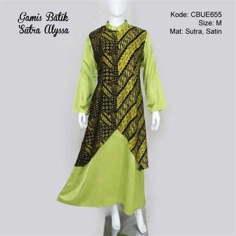 Gamis Pesta Batik gamis pesta batik alyssa green gamis batik murah