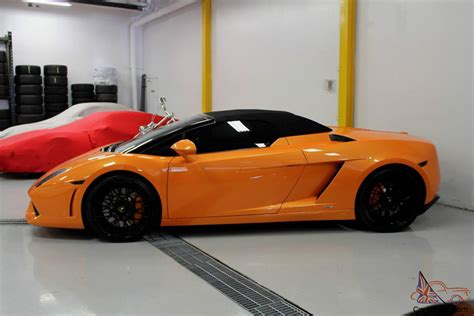 4 Door Lamborghini For Sale Lamborghini Gallardo Lp560 4 Spyder Convertible 2 Door