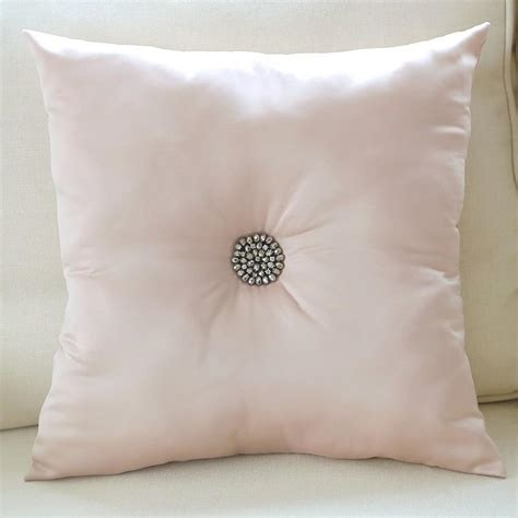 Adream Soft Decorative Cushion Sofa Silk With Diamond Luxury Throw Pillows For Sofas