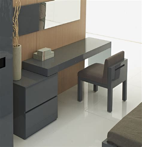 grey office desk two drawer grey high gloss office desk with glass leg