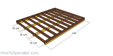 lean  shed  diy plans howtospecialist