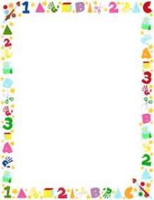 printable preschool border free gif jpg pdf and png