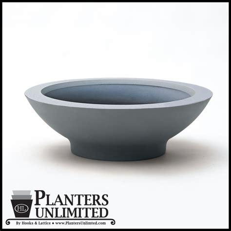 low bowl planters 24 quot dia x 8 quot h low bowl planter