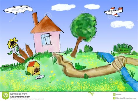 Happy House by Happy House Stock Illustration Image Of Clipart Home