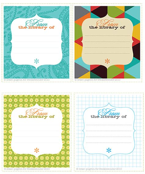 book label templates grab me a giveaway free quot this book belongs to quot printable