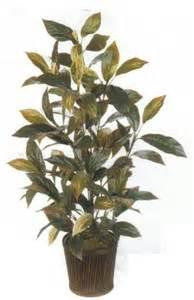 artificial 4ft floor plants