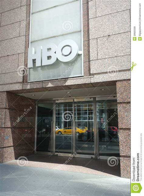 hbo headquarters editorial stock image image of office