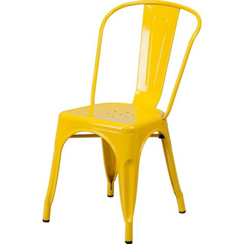 Tolix Bar Stool Yellow by Classic Restaurant Tolix Chair In Yellow Color Sc781y