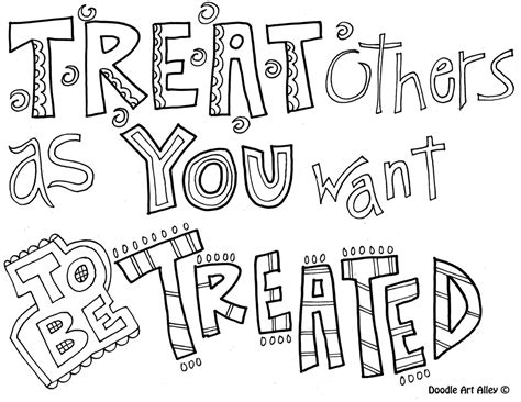 quotes coloring pages of respect coloring pages