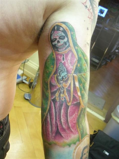 santa muerte tattoos designs tattoos portrayals of the santa muerte designs