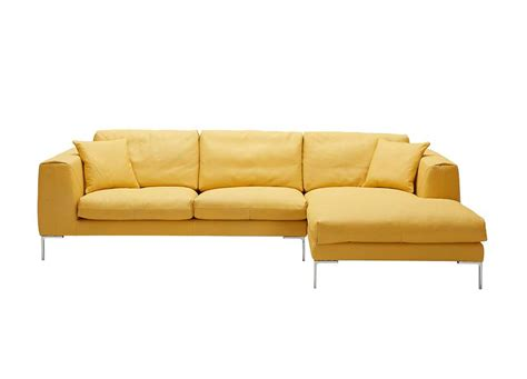 Yellow Sectional Sofa Yellow Premium Leather Sectional Sofa Leather Sectionals