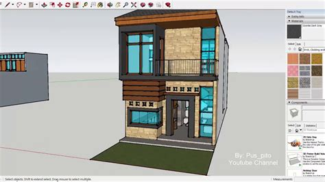 luxury house design  meter   meter youtube