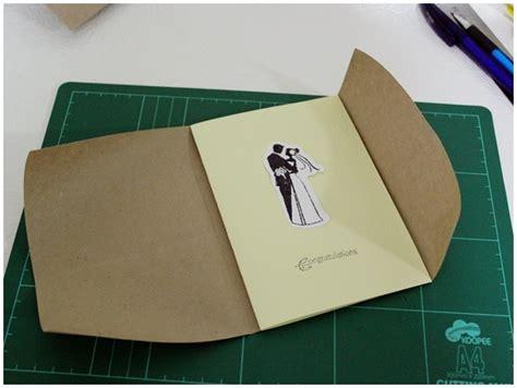 How To Make A Handmade Envelope - diy envelope paper doilies handmade envelope make an