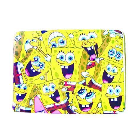 Tas Sekolah Model Selempang Karakter Sponge Bob jual nickelodeon spongebob laptop sleeve yellow tas anak harga kualitas terjamin