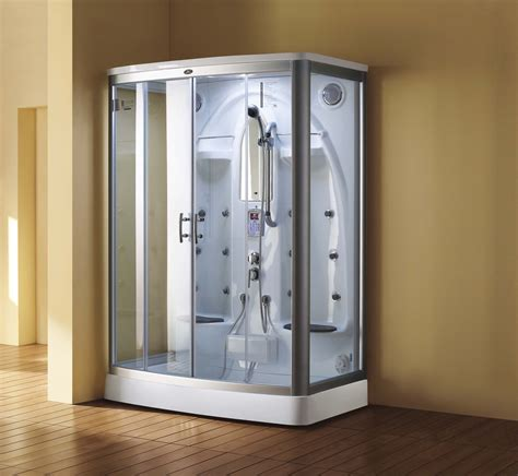 bath and shower unit the exciting features of the steam shower units bath decors
