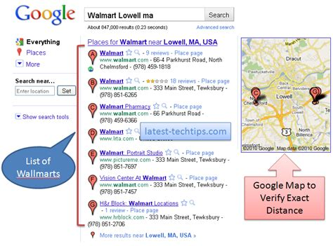 Where Is The Closet Walmart how to find nearest walmart in your area using