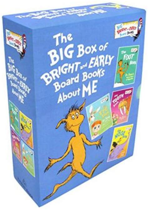 the foot book big bright early board book dr seuss books the big box of bright and early board books about me dr seuss 9780553536294