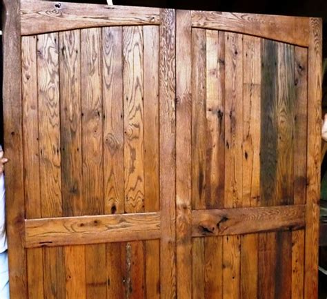 Reclaimed Wood Sliding Barn Doors Sliding Barn Door Antique Reclaimed From Historic Flooring Llc