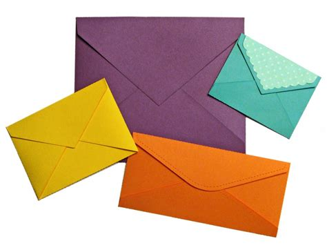 How To Make An Envelope With A Of Paper - basic envelopes pazzles craft room