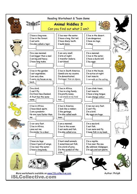 free printable animal riddles animal riddles 3 hard riddles pinterest animal